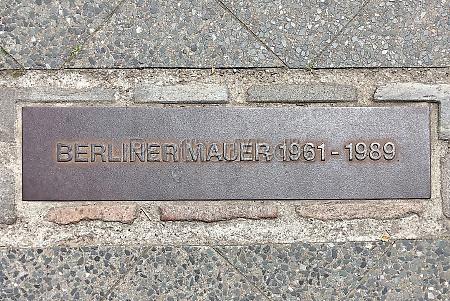 berlin wall at potsdamer platz in