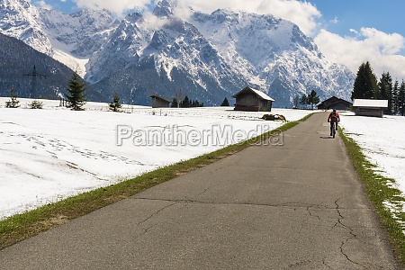 bicycle tour from kruen to mittenwald