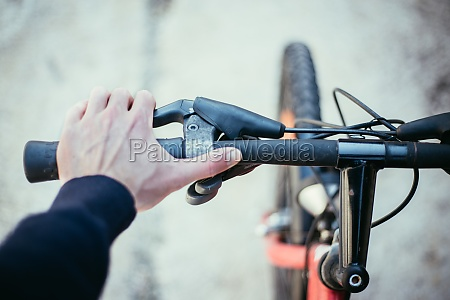 bicycle handlebar and breaks bike repair