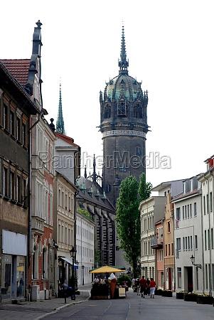 castle church of wittenberg germany