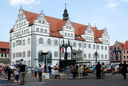 old city hall of wittenberg