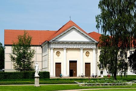 castle theatre of rheinsberg germany