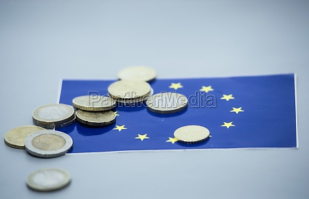 euro coins currency in the european
