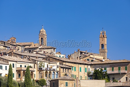 tuscanys most famous town montalcino in