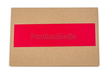 greeting card with insert