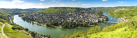 panorama from beautiful bern kastel kues