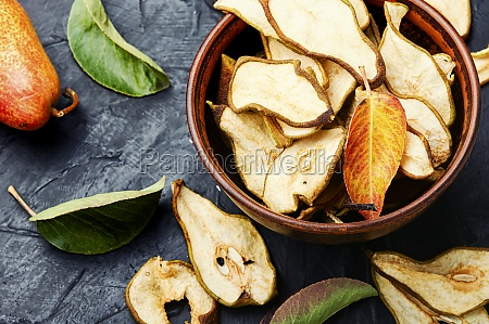 dry pear fruit