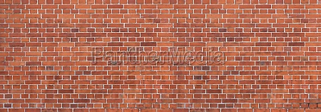 old dirty red brick wall