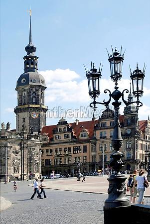 residence castle in dresden germany