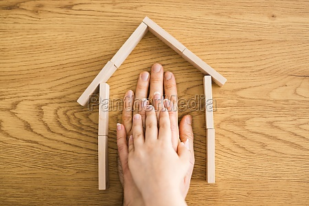 family home real estate concept