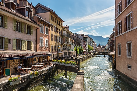 architecture of annecy france europe