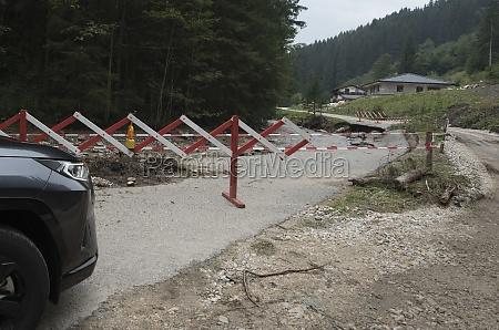 soil erosion and landslide after heavy