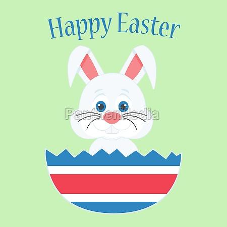 a cute easter bunny