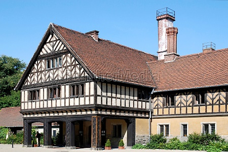 cecilienhof castle in potsdam germany
