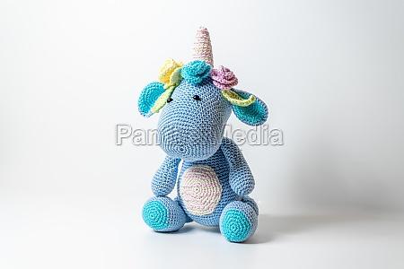 amigurumi unicorn dinosaur