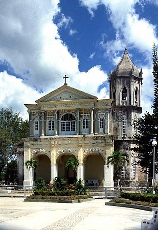 church on panglao island in the