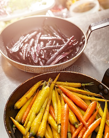 baby carrots grilled