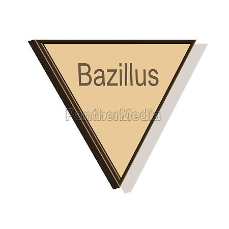 bacillus word or text as