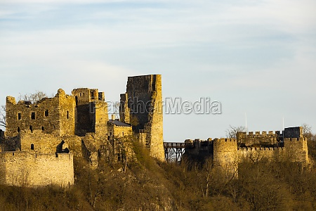 ruins of cornstejn czech republic
