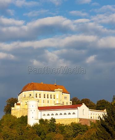 letovice castle south moravavia czech republic