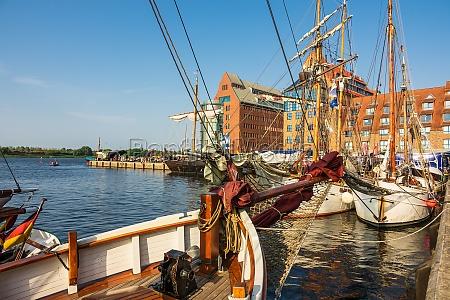 windjammer on the hanse sail in