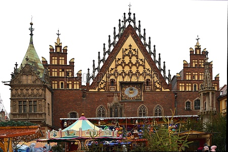 christmas market in wroclaw poland