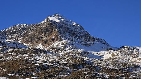 mt piz cambrena high mountain near