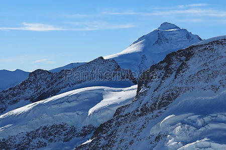 beautiful, shaped, mountains, and, glacier, , mt - 29713500
