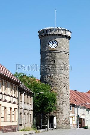 bird tower in dahme mark