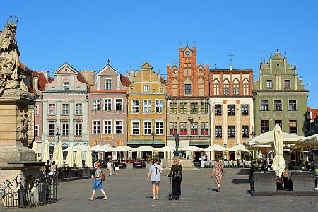 old market square of poznan