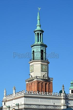 city hall of poznan poland