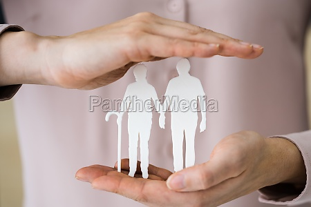 pension insurance protection concept