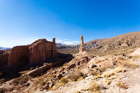 rock formation near tupiza bolivia