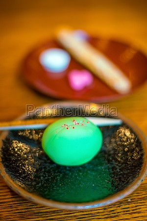 traditional kyoto style dessert