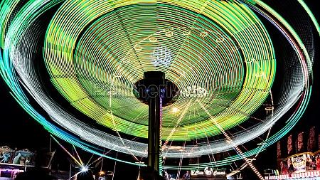 fair ride at night