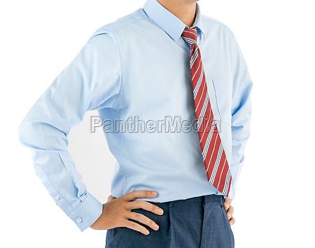 man wear long sleeve shirt standing