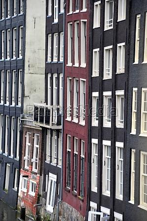 facade in amsterdam
