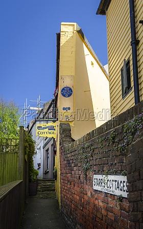 old town hastings sussex uk