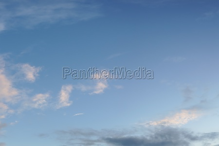 dramatic sky as natural background
