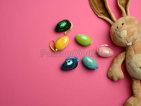 cute plush bunny with long ears