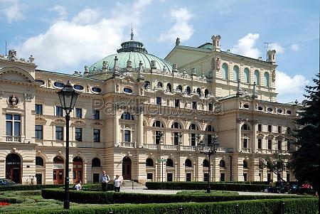 slowacki theatre of krakow poland