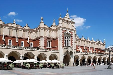 cloth hall of krakow poland