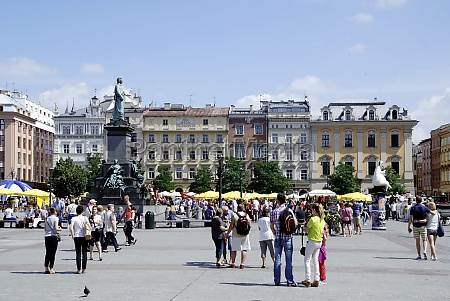 historic old town of krakow