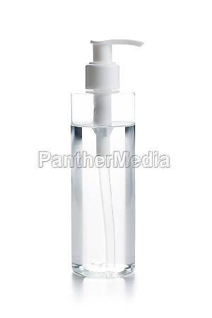 coronavirus prevention hand sanitizer gel in
