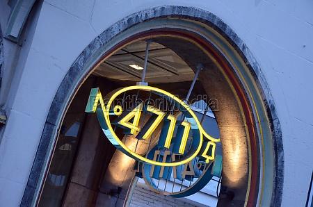 4711 logo am stammhaus in der