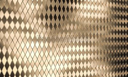 gold color mosaic