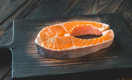 salmon steak o