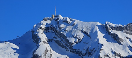 summit station on top of mount