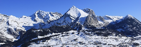 mount santis and other mountains of
