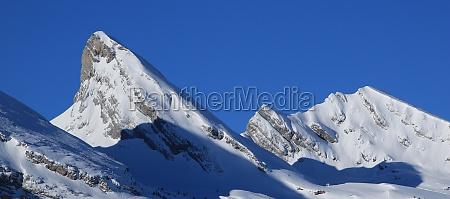 peaks of the churfirsten range on